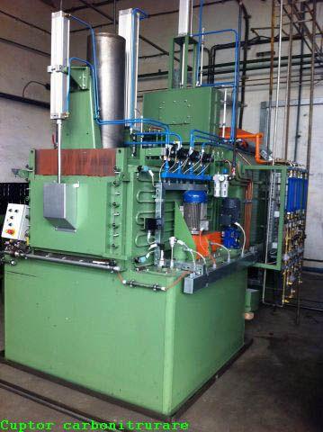 Cuptor de carbonitrurare Generator de gaz endo 20 E cu bazin integrat CBUT 10