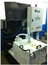 Sistem de preparare si recirculare fluide cu dozare automata